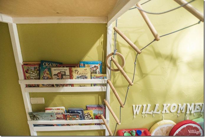 bērnistabas interjera dizains dzīvoklim
