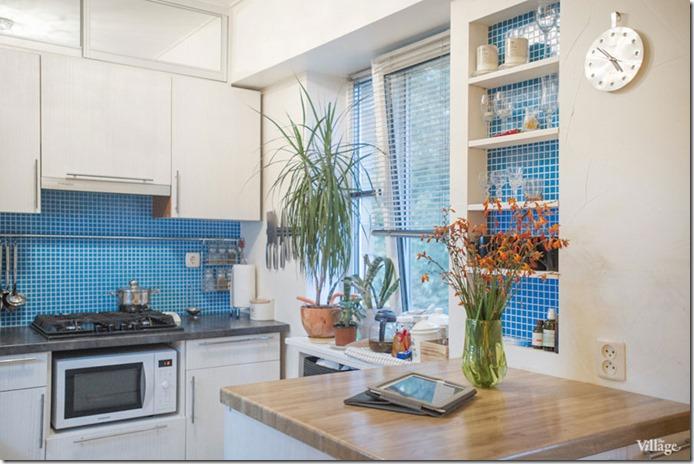 mazas virtuves iekārtojums trīsistabu dzīvoklī Kijevā