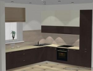 virtuves iekārta privātmajai