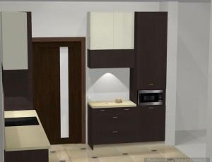 virtuves iekārtas vizualizācija