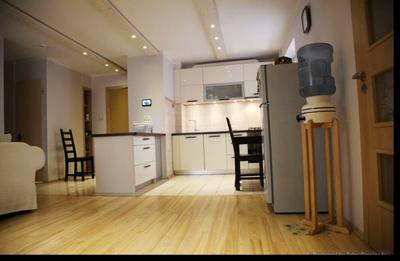 Mazas virtuves dizains dzīvoklim Bolderājā, Rīgā