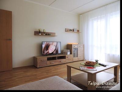 Interjera Dizains Vienistabas Dzīvoklim Jaunajā Projektā – Solitūdes Parks, Rīgā