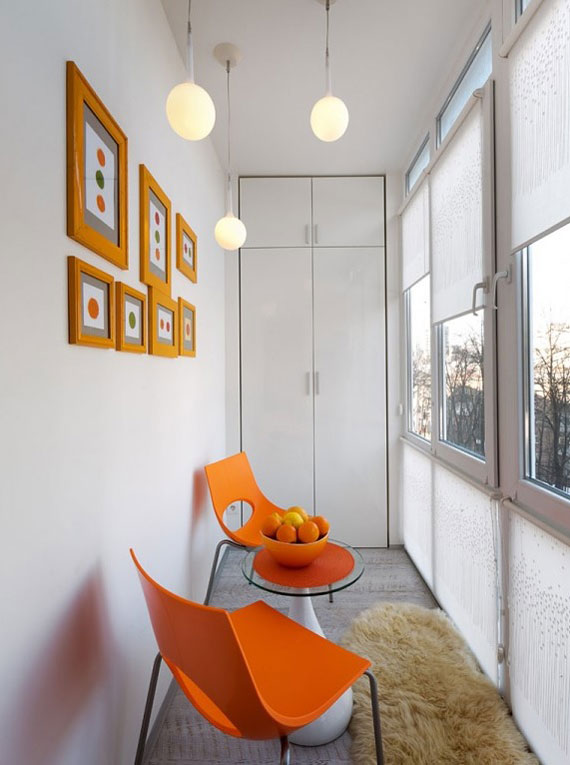 vienistabas dzīvokļa interjers
