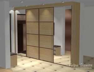 koridora skapja 3D risinājums
