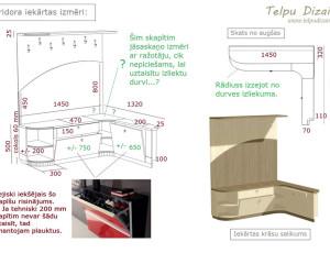 koridora iekārtas tehniskā specifikācija un 3D risinājums