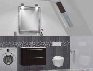 vannas istabas interjera dizains