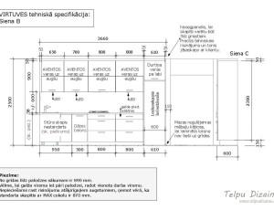 tehniskā specifikācija virtuves iekārtai