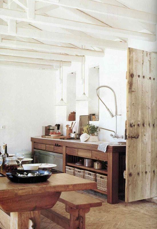 interjera dizains koka virtuvei