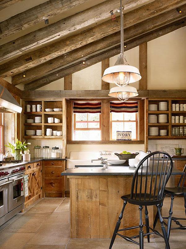 virtuves interjers no koka