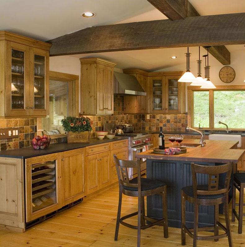 dizains virtuvei no koka