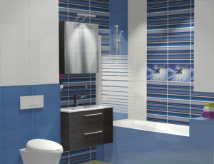 interjera risinājums vannas istabai