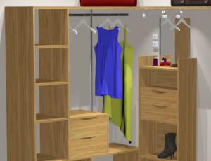 garderobes skapis