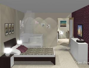 interjers guļamistabai