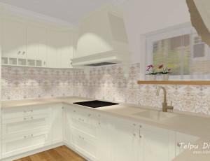 klasiska stila interjera risinājums 3D