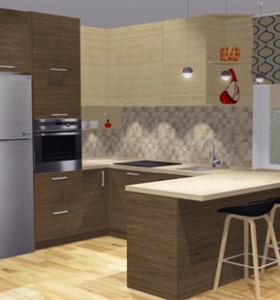dizains virtuvei