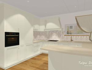 3D virtuves risinājums