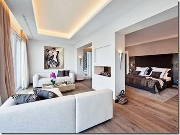 interjera dizains vienistabas dzīvoklim