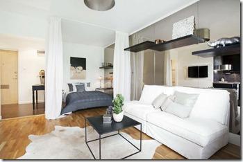 dzīvokļa interjers