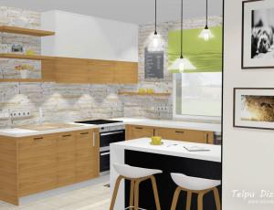 virtuves un ēdamzonas risinājums
