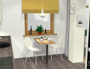 3D risinājums ēdamzonai