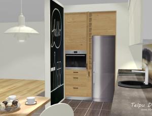 virtuves dizaina risinājums