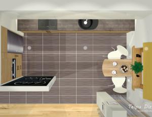 plānojums virtuvei no augšas
