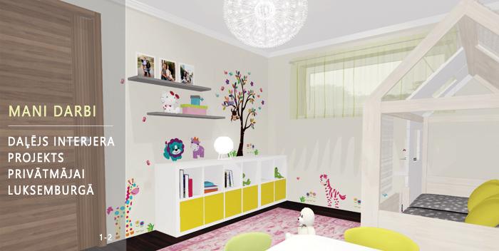 bērnu istabas dizains