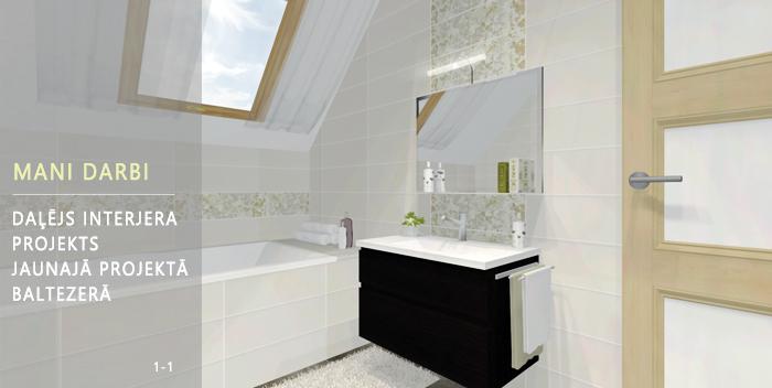 vannas istabas dizains
