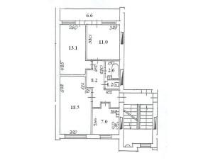 103. sērija dzīvokļa plāns