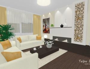 interjera dizains viesistabai
