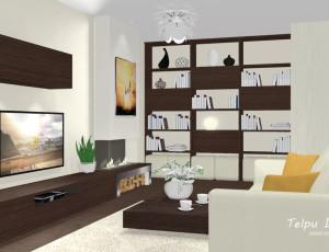 3D interjera skice