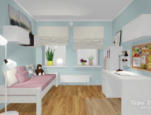 3d interjera dizains